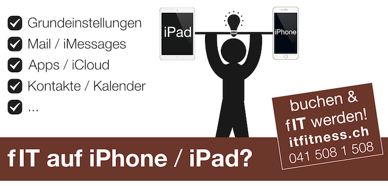 ICC IT Fitness iphone ipad schulung
